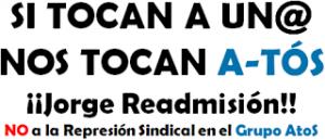 Represion Grupo AtoS Jorge readmision